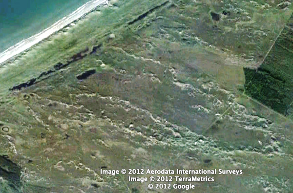 Google Earth image of Nissekaer